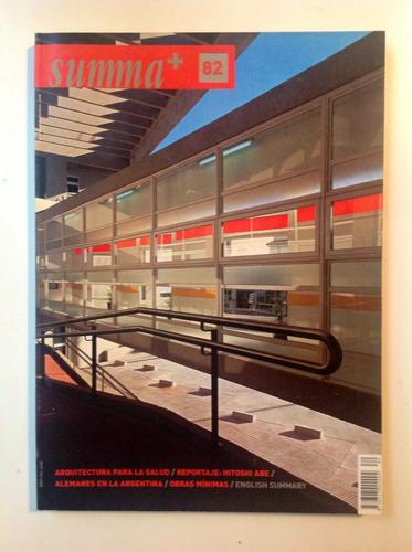 Revista Summa+ 82 - Arquitectura Para La Salud