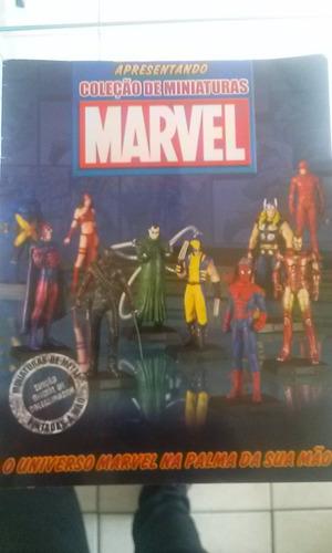 Revista Marvel Coleção De Miniaturas Original