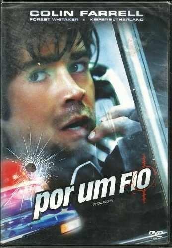 Por Um Fio Dvd Com Colin Farrell Original