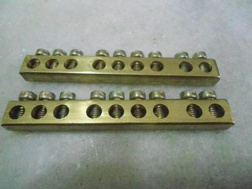 Barramento Neutro E Terra Tigr Para Qd Dist 6/8 Disjuntores Original