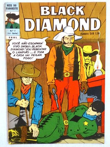 Black Diamond Nº 7 Reis Faroeste Ebal - 1975 Original