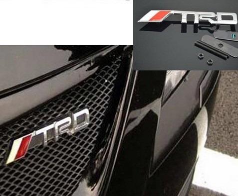 Emblema Toyota Trd - Corolla Etios Rav4 Hilux Sw4 Original