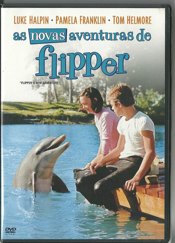 Dvd As Novas Aventuras De Flipper , Luke Halpin , Lacrado Original