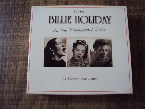 Billie Holiday - On The Sentimental Side - 3 Cds - L Original