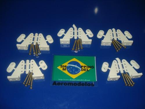Kit Com 10 Horns De Nylon Para Zagi Ou Cessna Eletrico Original