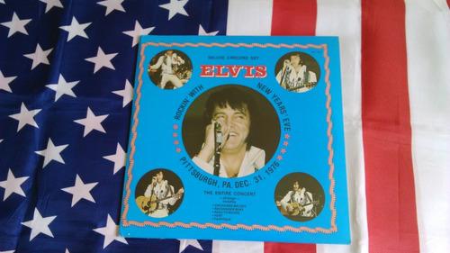 Elvis Lp Pittsburgh 31 Dez 1976 New Years Eve Lacrado Original