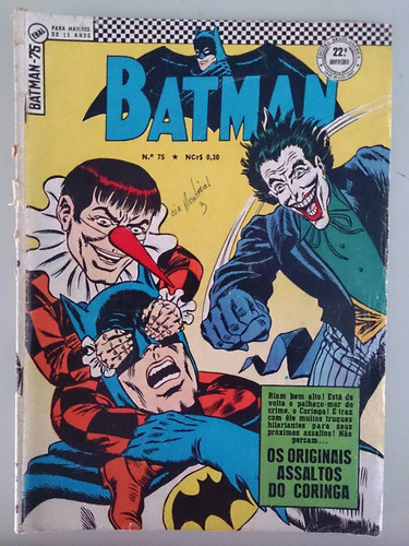 Batman Ebal 2a S. Vários Nos. - Todos Originais Original