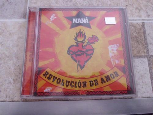 Cd Maná Revolución De Amor Original