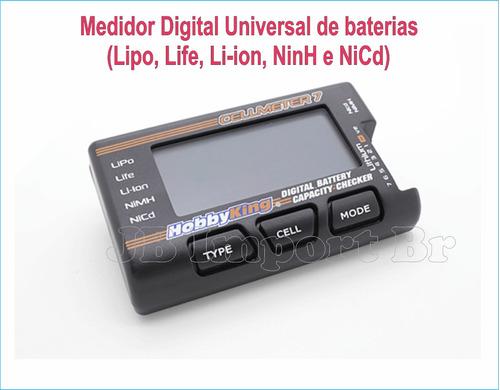 Medidor Digital Universal De  Baterias Original