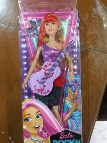 Boneca Barbie Rockn Royals Nova Lacrada