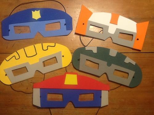 Souvenirs Antifaces Transformers Pack 20 Unid