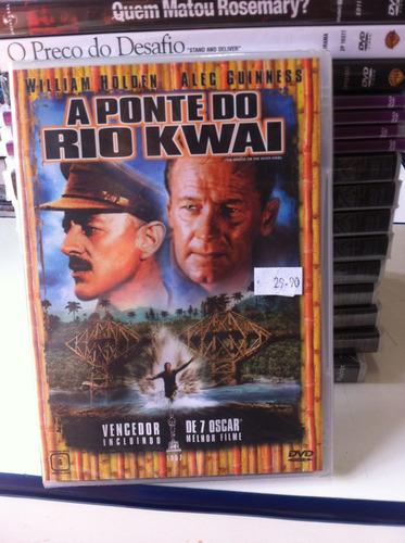 Dvd  A Ponte Do Rio Kwai (william Holden) Lacrado Original