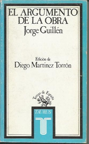 El Argumento De La Obra - Guillen Original
