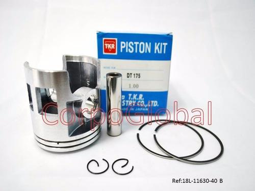 Kit De Piston Yamaha Dt175 W/ring 1.00mm