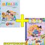 Kit Bíblia Turminha Da Graça Meninos E Meninas Capa Almofada