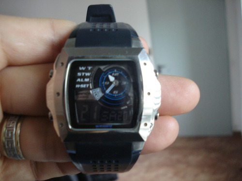 Reloj Casio Edifice Sumergible En Excelente Estado!