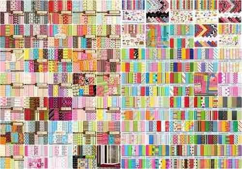 Pacotão De Papel Scrapbook Digital Envio Grátis