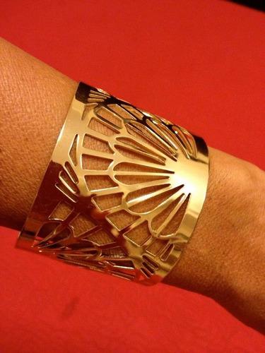 Pulseira Dourada Bracelete Dourado