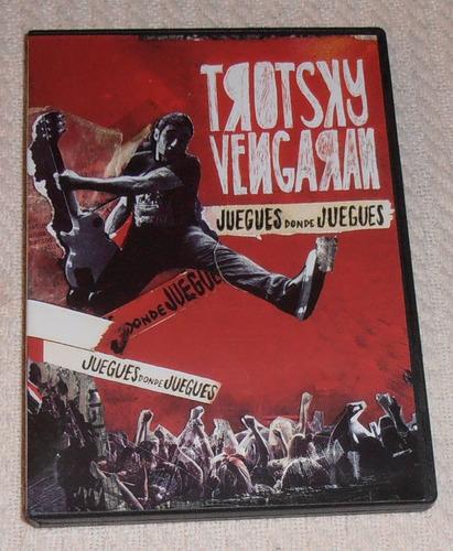 Trotsky Vengarán - Juegues Donde Juegues ( D V D Nuevo)