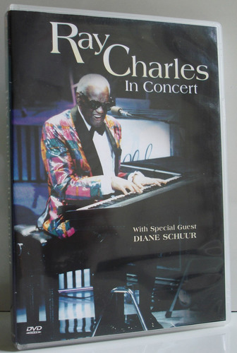 Ray Charles In Concert With Diane Schuur Dvd Importado Original