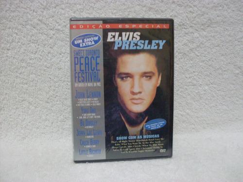 Dvd Elvis Presley & Sweet Toronto Peace Festival- Lacrado Original