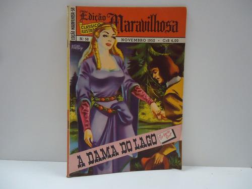 Gibi Edições Maravilhosas Nº 58 - Ano 5 - Novembro 1952 Original
