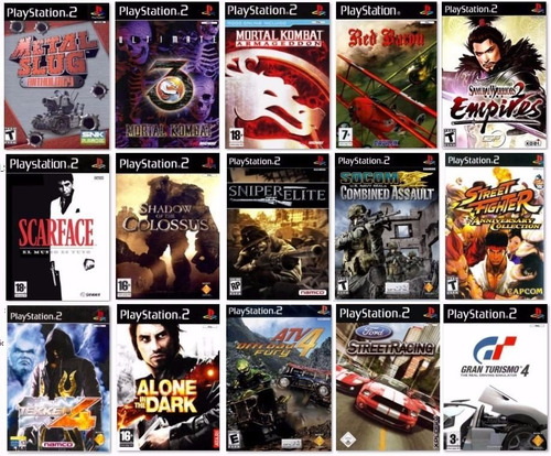 Juegos De Playstation 2