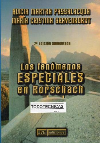 Los Fenómenos Especiales En Rorschach Passalacqua - Libreria