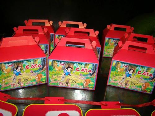 40 X $1600 Cajitas Golosinera Tipo Caja Feliz