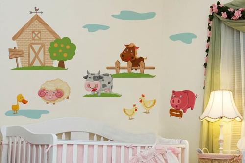 Adesivo Fazendinha Baby - Mudo Minha Casa Original