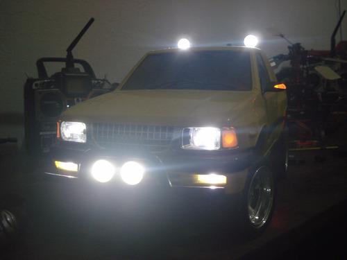 Pick Up Tamiya Isuzo Com Mfc-02 Não É F350 Toyota Hilux