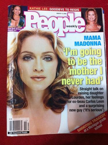 Revista People Madonna Diva Pop Jennifer Lopez Musa Latina Original