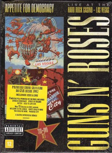 Dvd+2cds Guns N