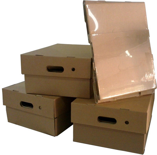 Cajas De Carton 42 X 32 X 20 Cm