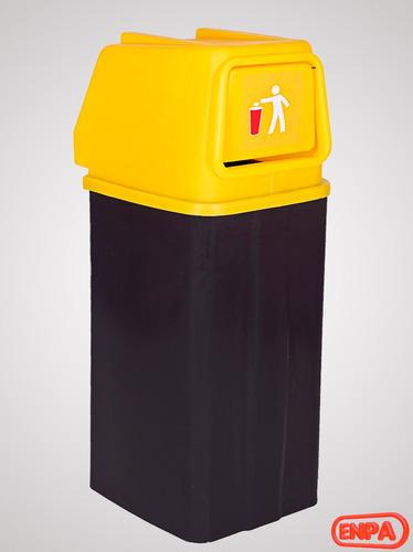 Recipiente Plastico,separacion Residuos, Basura, 100 Litros