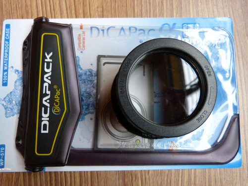Funda Sumergible Camara Digital  Dicapack Wp 570 Nueva!!!