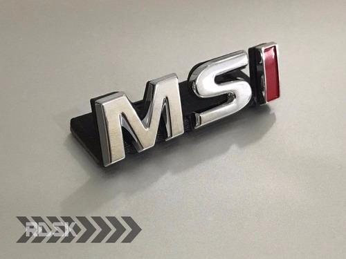 Emblema Msi Pequeno -  Golf Mk7 Polo - Grade - Exclusivo!