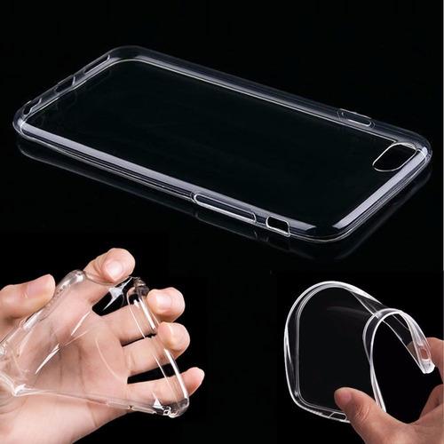 Capa Case De Tpu Flexível iPhone 6 +película De Vidro Original