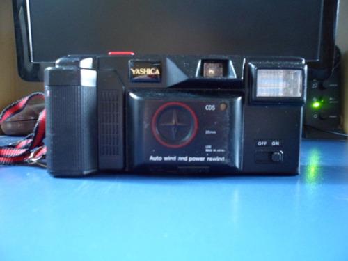 Antiga Câmera Fotográfica Yashica Boa Funciona Tudo Original