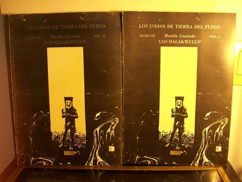 Adp Los Indios De Tierra Del Fuego ( Tomo 3 - Vol. 1 Y 2 )