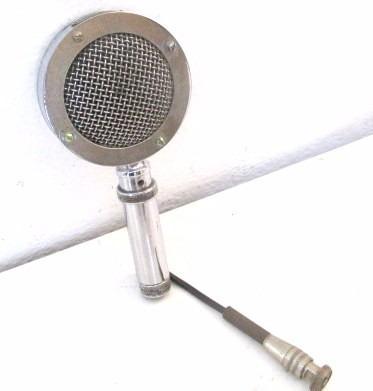 Antiguo Micrófono Funcionando Perfecto Revisado Y Probado