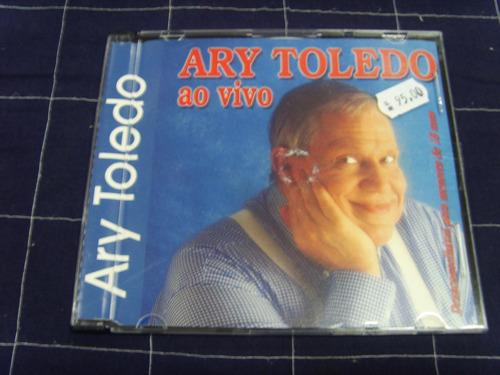 Cd - Ary Toledo - Ao Vivo Original