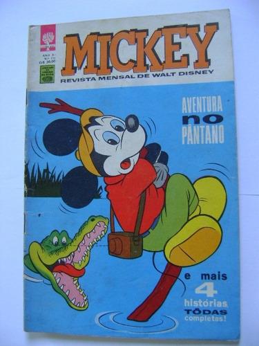 Mickey N°115 Maio De 1962 Editora Abril Ótimo! Original