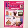Revista Arte Em Biscuit Casinha Porta chaves Cadernos Bc563