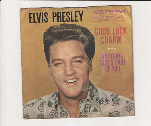 Elvis Presley - Good Luck Charm - Compacto - Ep 27 Original