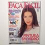 Revista Faça Fácil Ponto Cruz Pintura Em Vidro Potes Bc294