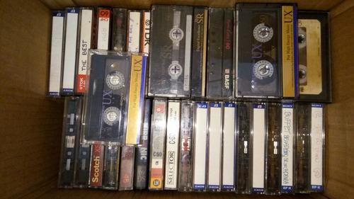60 Fitas Cassete K7