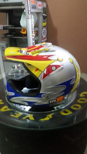 Casco Motocross M2r Importado Talle Xl