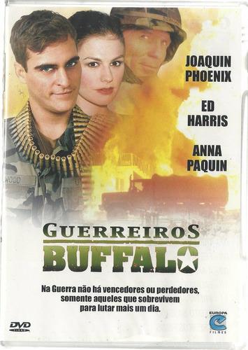 Dvd Guerreiros Buffalo - Joaquin Phoenix Ed Harris - Lacrado Original