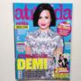 Revista Atrevida Demi Lovato John Green Calvin Harris